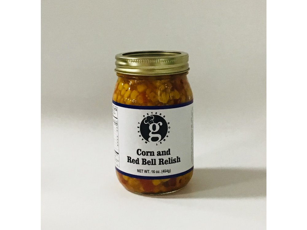 PGM Corn and Red Bell Relish 16 oz