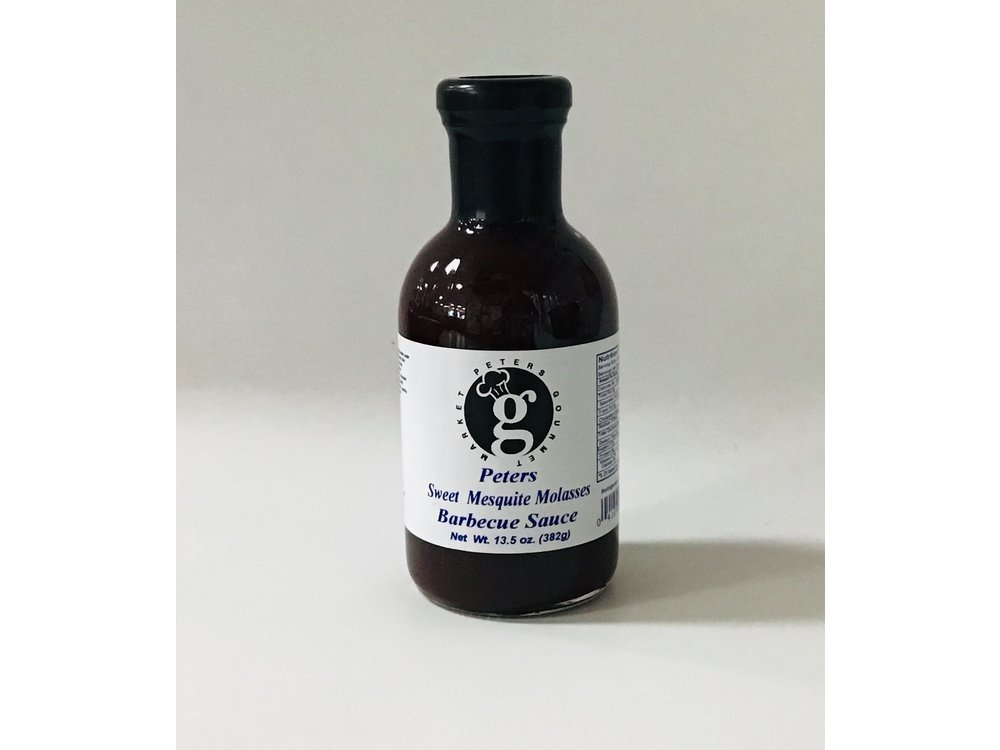 Peters Sweet Molasses BBQ Sauce 13.5 oz