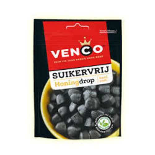 Venco Venco Sugar Free Honey Licorice 3.5 Oz Bag
