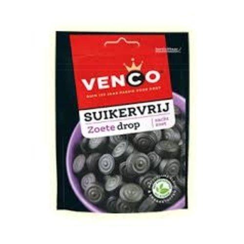Venco Venco Sugar Free Sweet Licorice 3.5 Oz Bag