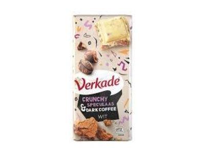 Verkade Verkade Speculaas and Dark Coffee White Chocolate Bar 3.9 Oz