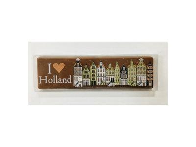 I love Holland Milk Chocolate Bar 2.6 oz Dated Aug 14