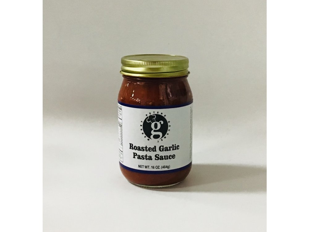 PGM Roasted Garlic Pasta Sauce 16 oz jar