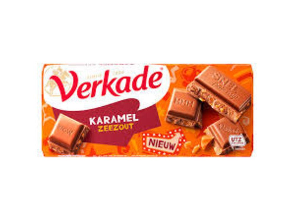 Verkade Verkade Chocolate Bar Milk Caramel & Seasalt 3.9 Oz