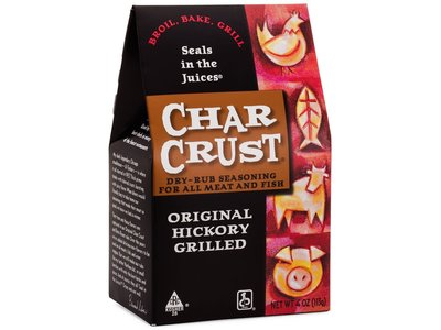 Char Crust Original Hickory rub 4 oz box