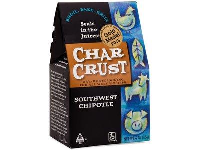 Char Crust Southwest Chipotle rub 4 oz box