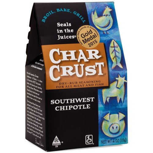 Char Crust Char Crust Southwest Chipotle rub 4 oz box