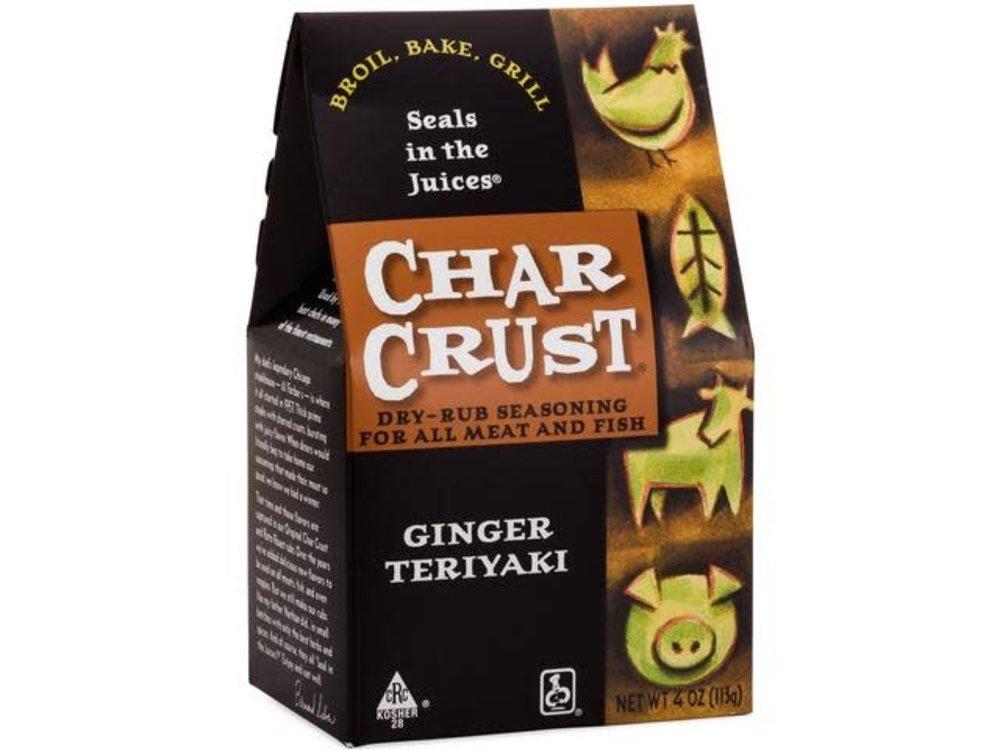 Char Crust Char Crust Ginger Teriyaki rub 4 oz box