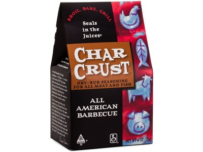 Char Crust All American BBQ rub 4 oz box