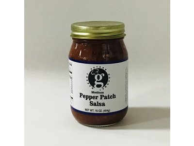 PGM Pepper Patch Salsa Medium 16 oz