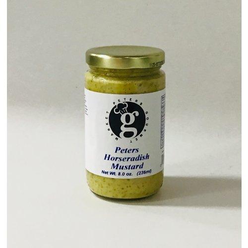 Peters Gourmet Foods Peters Horseradish Mustard 10 oz