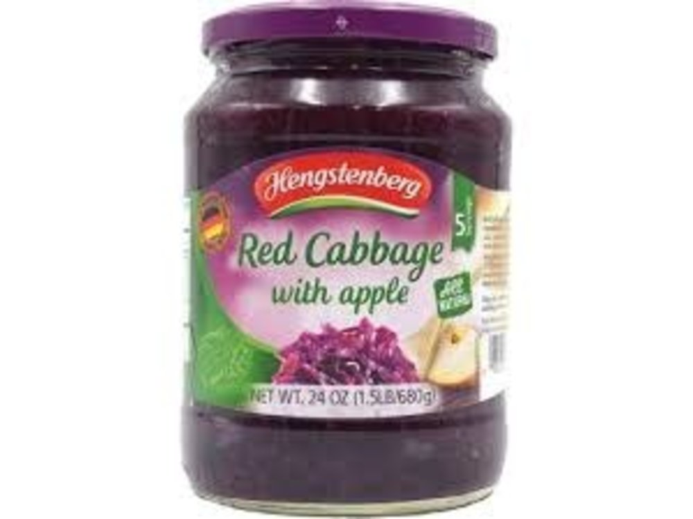 Hengstenberg Hengstenberg Red Cabbage With Apple 24 oz