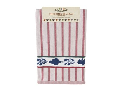 Boerenbont Tea Towel Red