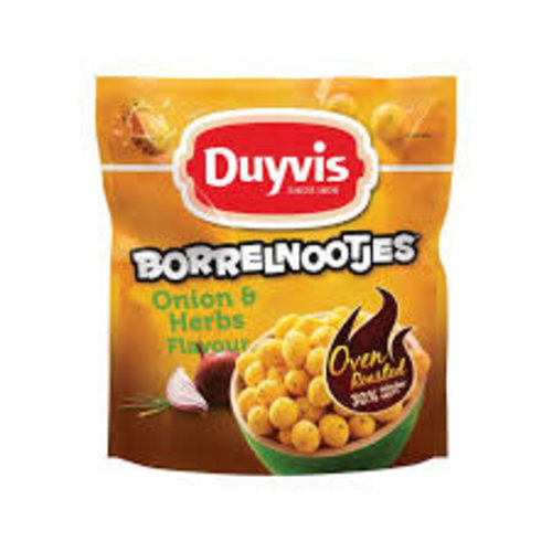 Duyvis Duyvis Borrelnootjes Onion & Herb 10.5 oz Bag