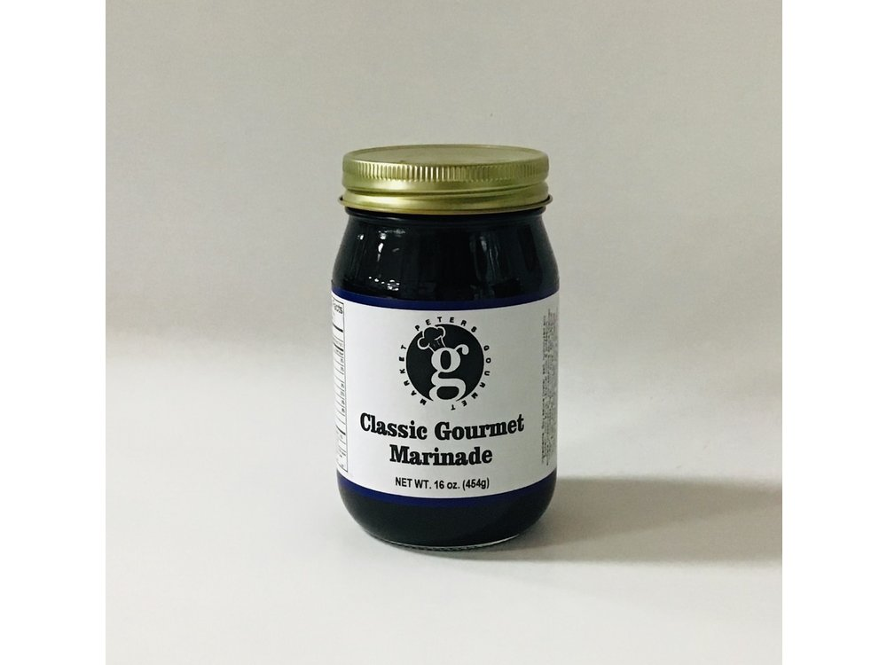Peters Gourmet Foods PGM Classic Gourmet Marinade 16 oz jar