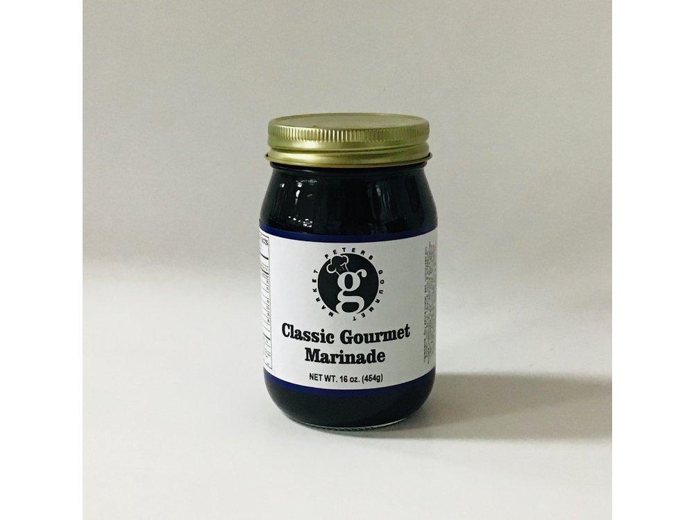 PGM Classic Gourmet Marinade 16 oz jar