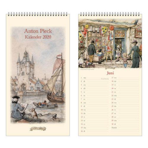 Anton Pieck 2020 Note Calendar 7x13.6