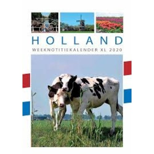 Holland 2020 Weekly Note Calendar 6.5x9