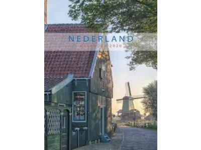 "Netherlands Monthly 2020 Note Calendar 13x13"""