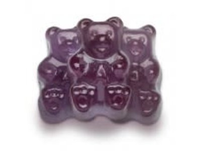 Albanese ALB Grape Gummi Bears 5 lb bag