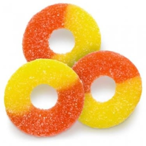 Albanese Albanese Gummi Peach Rings 4.5 lb