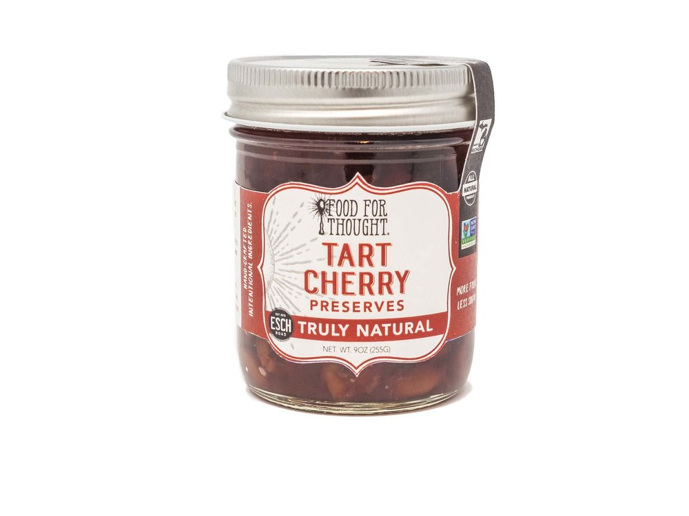 Food For Thought Food for Thought Tart Cherry Jam 8 oz