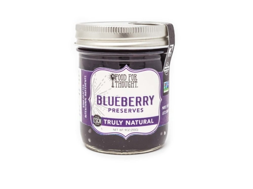 Food For Thought Food For Thought Blueberry Preserve 9 oz