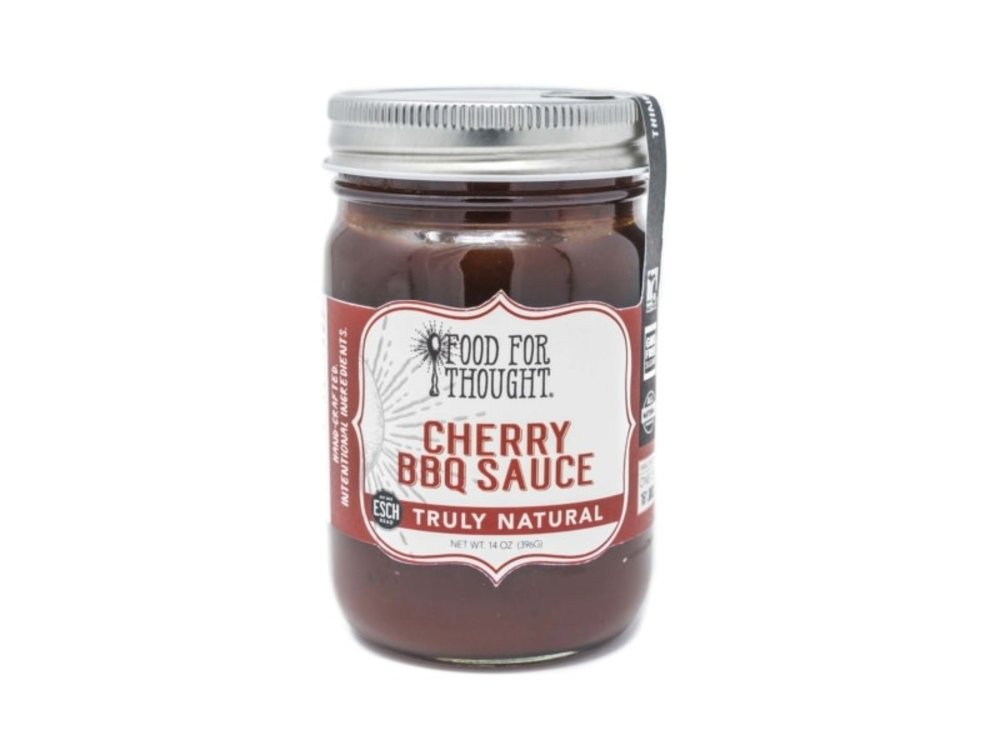 Food For Thought Food For Thought Cherry BBQ Sauce