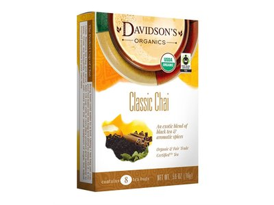 Davidsons Davidsons Classic Chai tea 8 ct