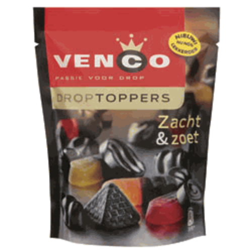 Venco Venco Droptopper Sweet Soft Mix 8.2 oz Bag