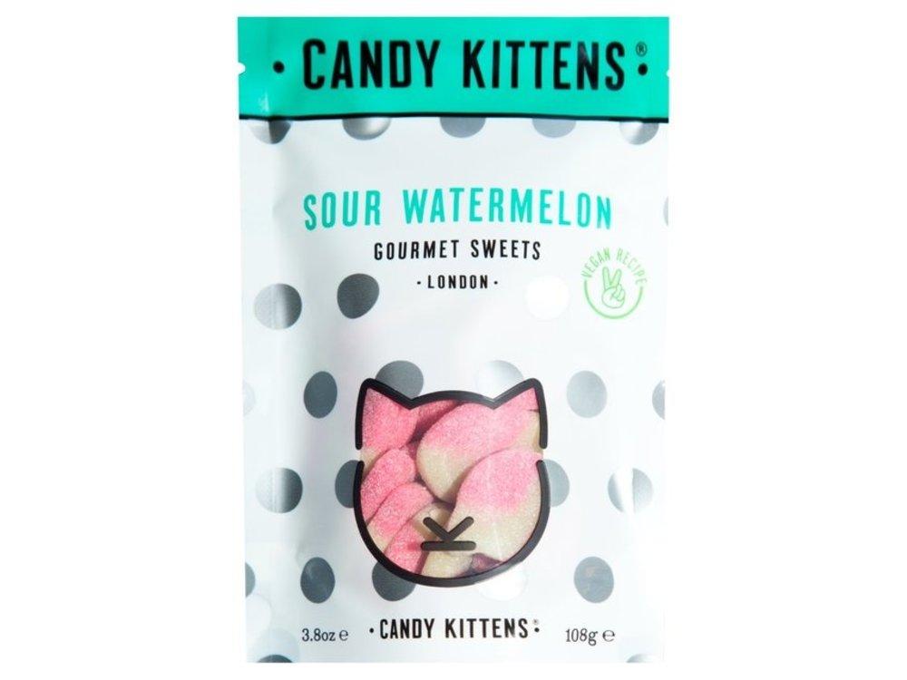 Candy Kittens Sour Watermelon 3.8 oz bag