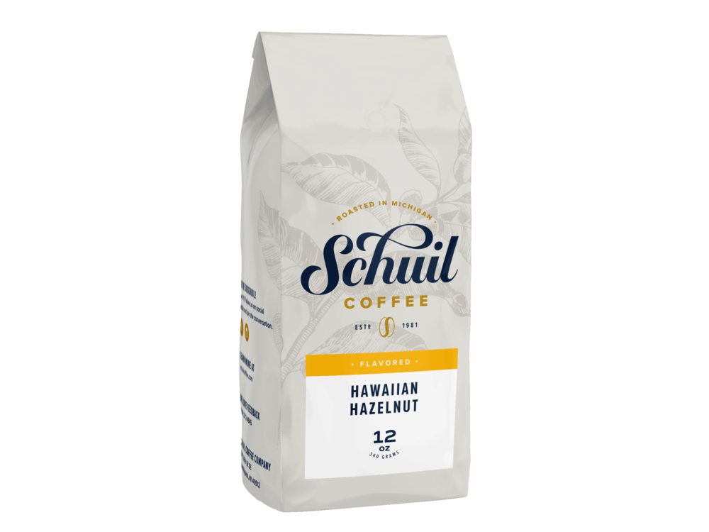 Schuil Schuil Hawaiian Hazelnut 12 oz Whole Bean