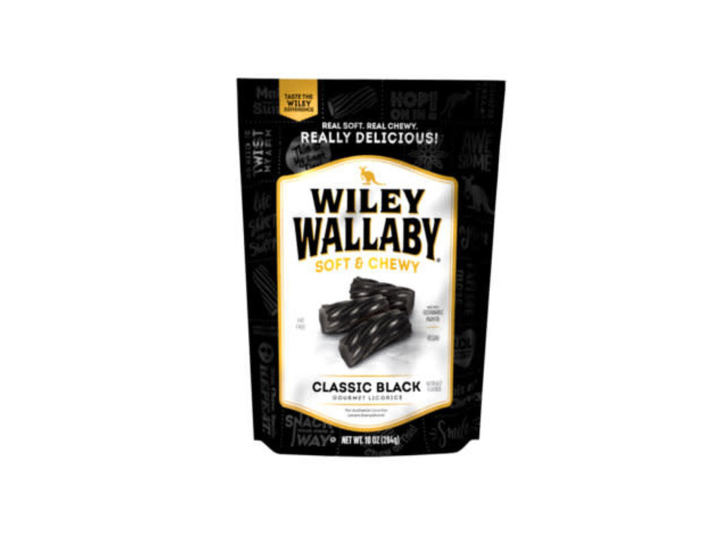 Willey Wallaby Wiley Wallaby Black Licorice