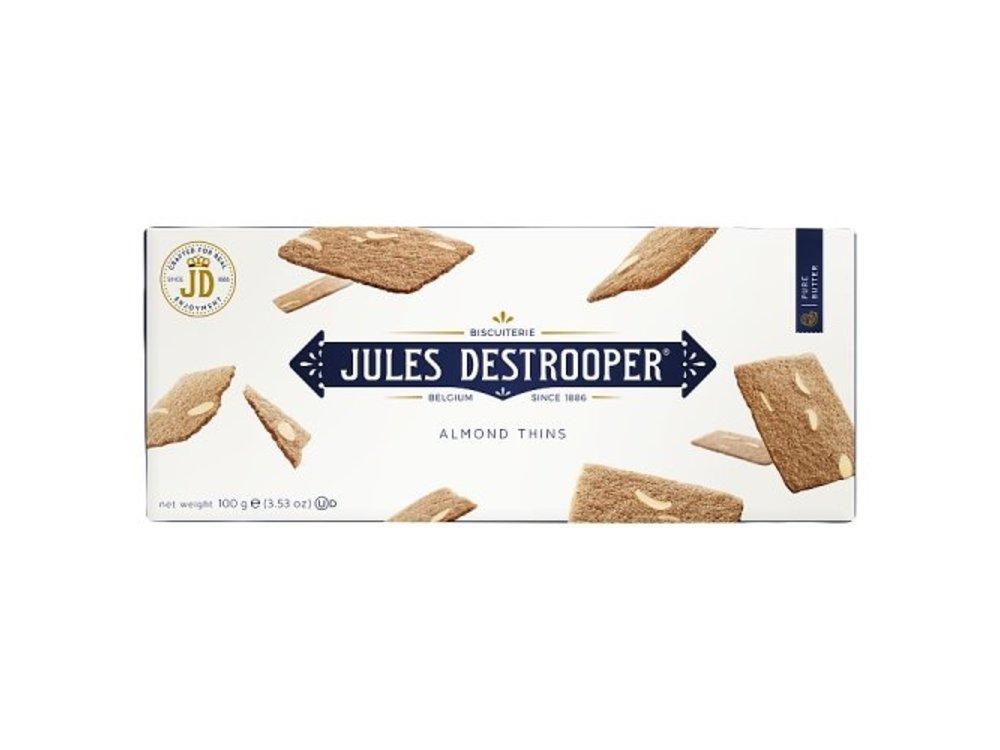Destrooper Destrooper Almond Thins 3.35 oz box DATED 4/2/21