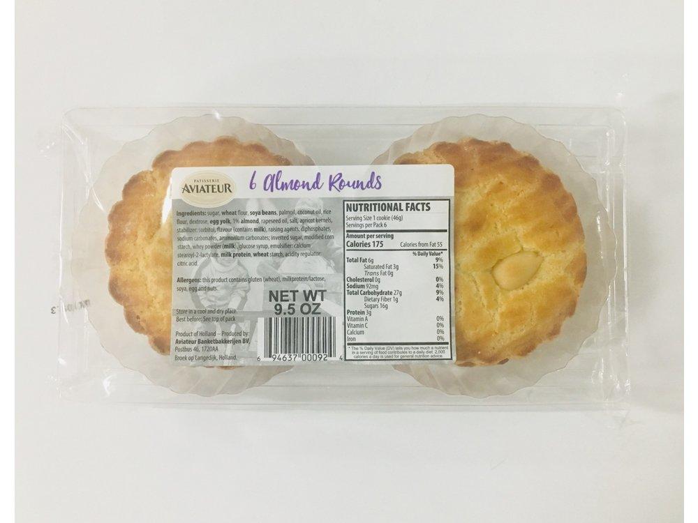 Aviateur Aviateur Almond Flavor Rounds 9.5 Oz