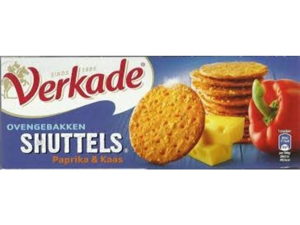 Verkade Verkade Shuttels Cheese & Paprika Crackers 5.2 Oz