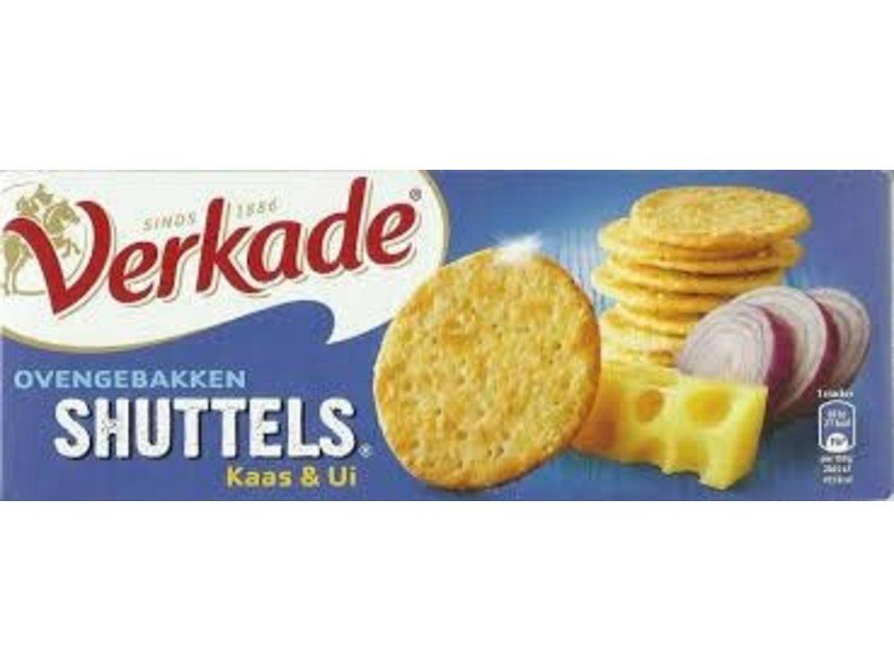 Verkade Verkade Shuttels Cheese & Onion Crackers 5.2 Oz
