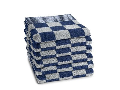 DDDDD DDDDD Barbecue Blue Hand Towel