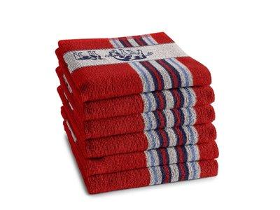 DDDDD DDDDD Friesian Red Hand Towel
