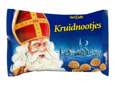 Van Delft Van Delft Gingerbread nuts 7 oz bag