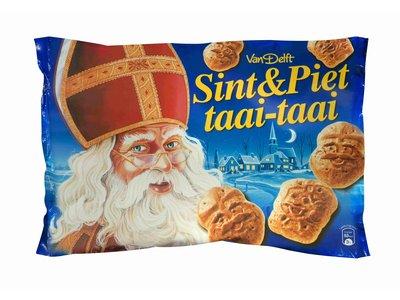 Van Delft Van Delft Mini Gingerbread Shapes 17.5 Oz Taai Taai
