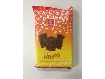 De Heer De Heer Milk Chocolate Speculaas shapes 5.2 oz
