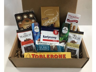 Gift Basket All Things Chocolate Gift Box