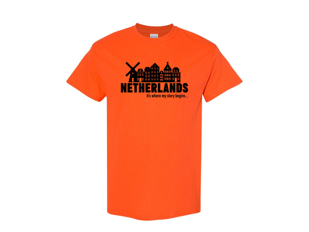 Peters Netherlands My Story Adult T Shirt XL
