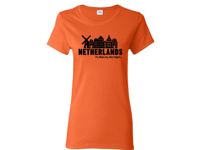 Peters Netherlands My Story Womens T Shirt XXL