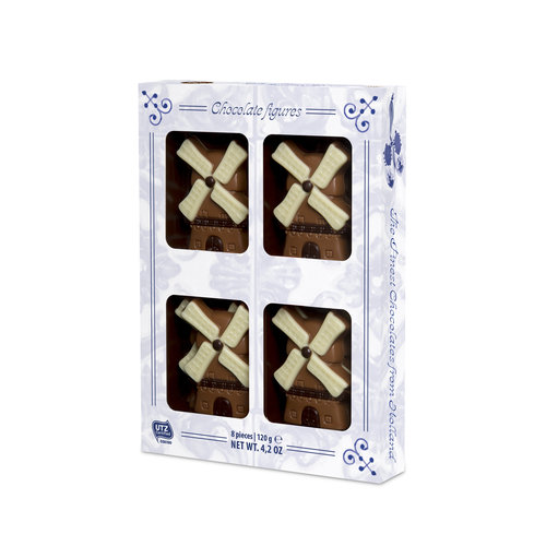 Martinez Martinez Milk Chocolate Windmills 5.2 Oz box
