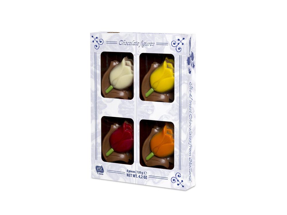 Martinez Martinez Milk Chocolate Tulips 4.2 Oz box