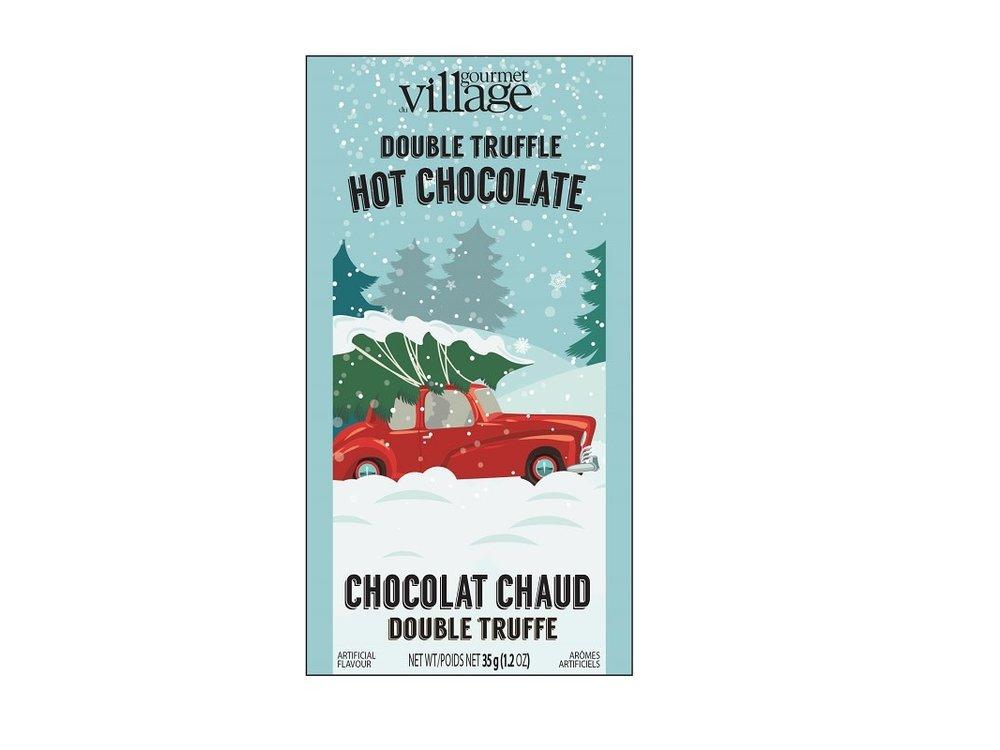 Gourmet du Village Retro Red Truck Cocoa Packet 1.2 Oz