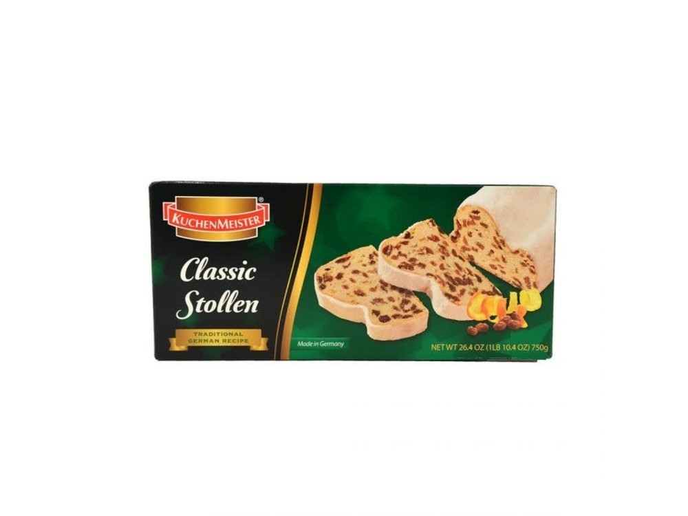 Kuchenmeister Classic ChristStollen 17.6 oz gift boxed