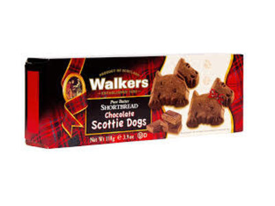 Walkers Walkers Chocolate Scottie Dogs Shortbread 3.9oz Box